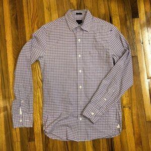 J.Crew plaid shirt slim xs